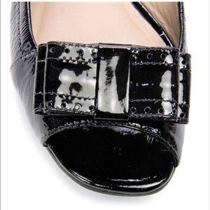 kate spade Shoes - Kate Spade Black Soft Patent Flats NIB